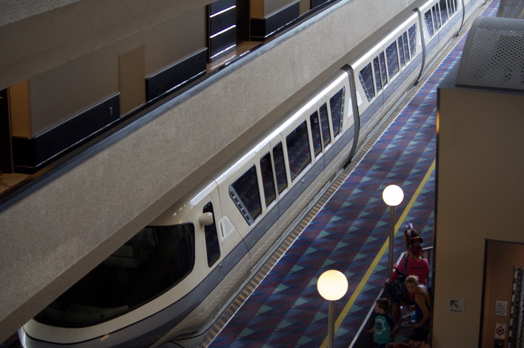 Monorail at Contemporary Resort