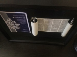 Bar Mitzvah Torah Keepsake