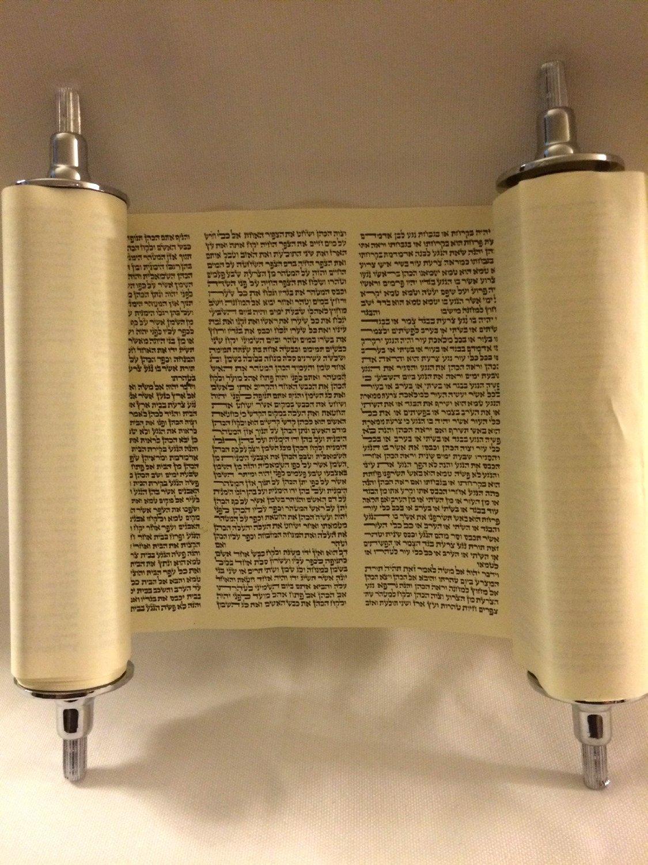 DIY Bar Mitzvah Torah Keepsake - Soy Latte Lucy