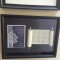 Completed DIY Bar or Bat Mitzvah Torah Scroll & Invitation Shadow Box Keepsake